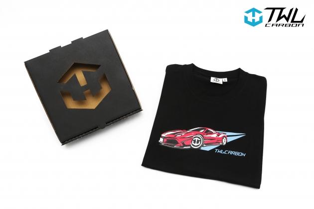 TWLCarbon Ferrari 488 Limited Edition T-shirt (Black) 2